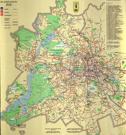 West Berlin Karte.Hon Mention Mapping Divided Berlin The Politics Of Under And