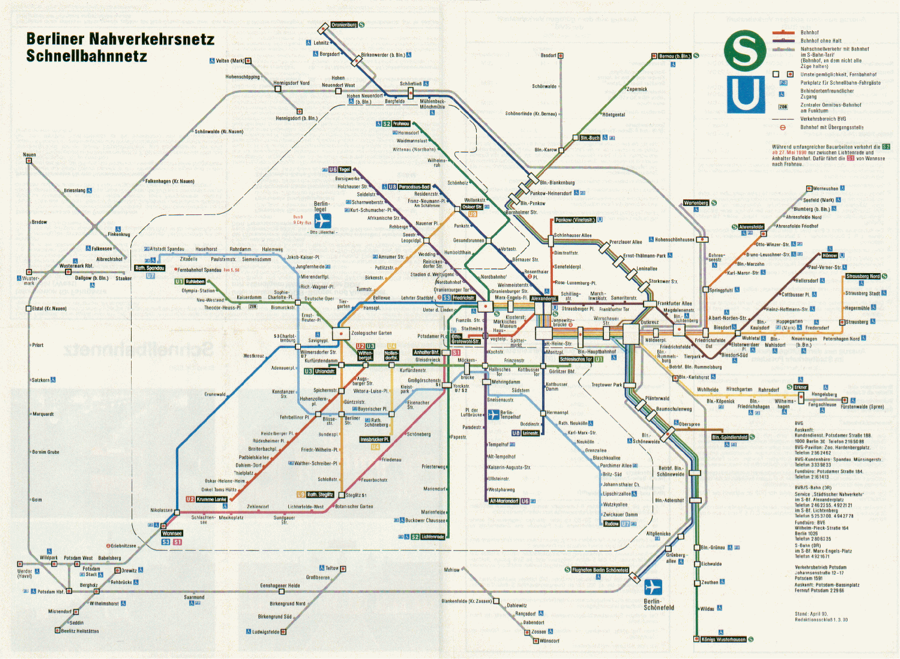Berlin Wall Subway Map.Hon Mention Mapping Divided Berlin The Politics Of Under And